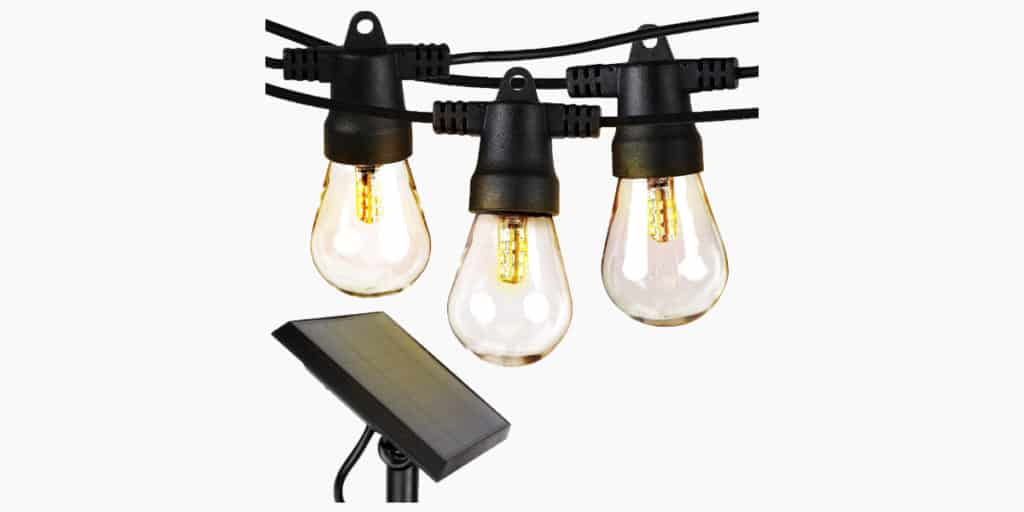 Brightech Ambience Pro Led Outdoor Solar String Lights