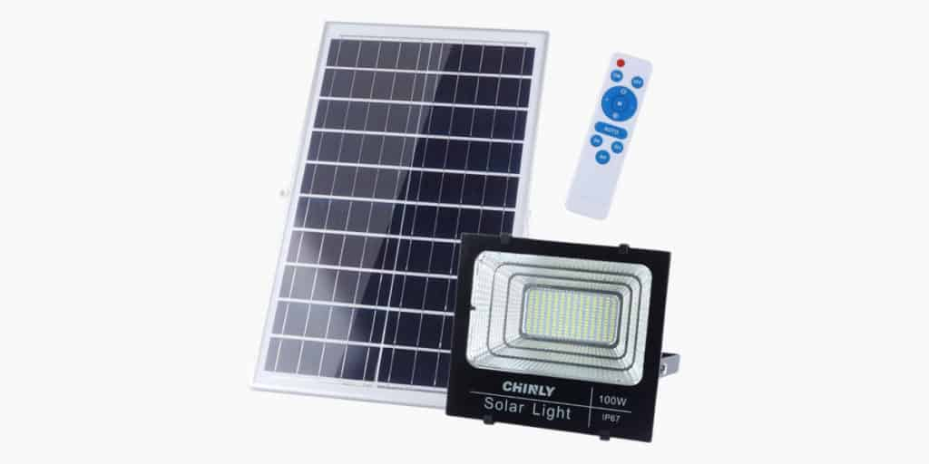 Chinly 100w Solar Flood Light Review