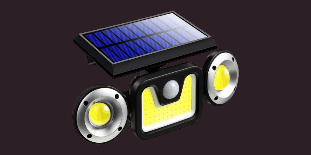 Hulppre 6000mah Solar Flood Light Review