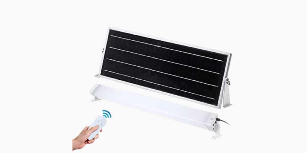 Ruggedgrade 60w Solar Flood Light Review