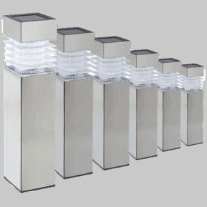 Lowvoltz Stainless Steel Solar Light 2