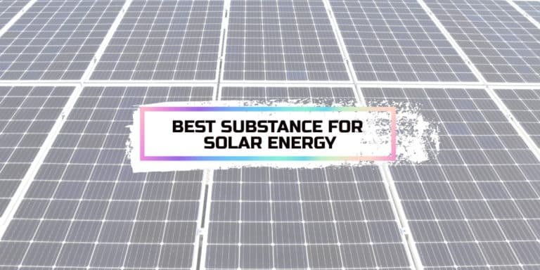 Which Substance Is The Best Transmitter Of Solar Energy?